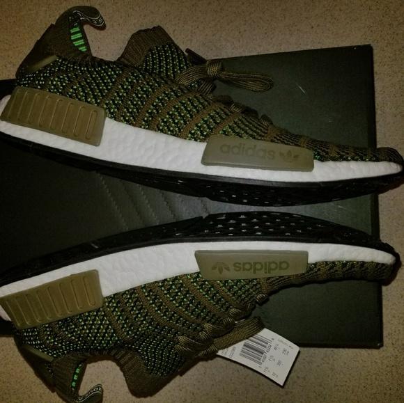 93b733f02 Adidas NMD R1 Stlt PrimeKnit Kith Boost Sneakers